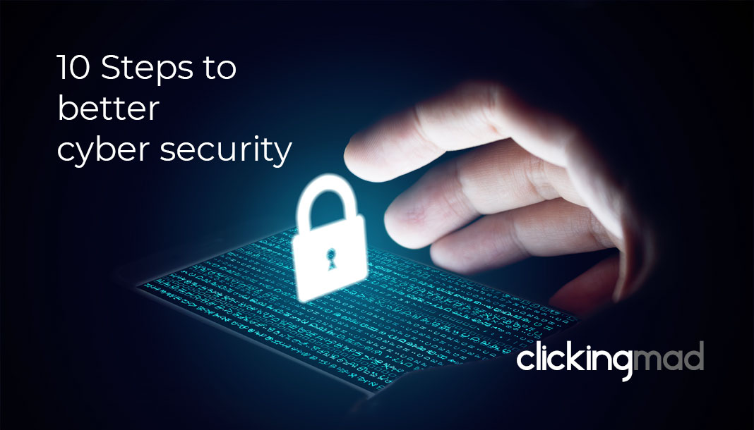 How do I improve my cyber security?