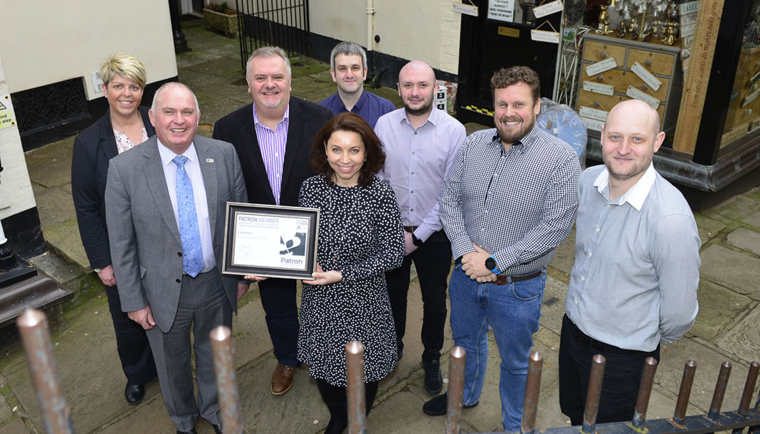 Clickingmad Ltd become Patrons of Shropshire Chamber